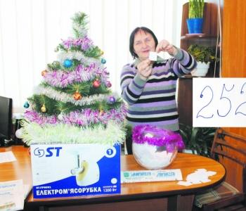Головний приз –  електром'ясорубка –  попрямує в Городок